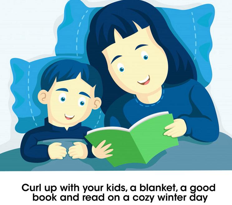 engaging kids during winter break